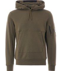 cp company m93 hooded sweatshirt-olive-5160w-660