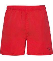 basic swim shorts c.f badshorts röd gant