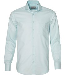 ledûb overhemd - modern fit - groen