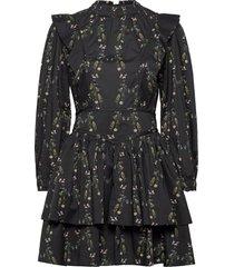 aislyn varanasi dres korte jurk zwart allsaints