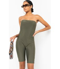 akira paxton don't hold a grudge tube top romper