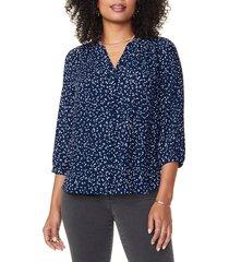 women's nydj pleat back blouse