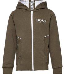 cardigan suit hoodie trui bruin boss