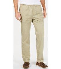 tommy bahama men's big & tall boracay elastic waist pants