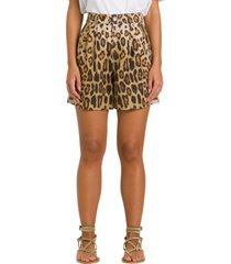 etro animalier shorts