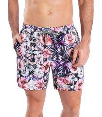 pantaloneta corta verano hawai rosado