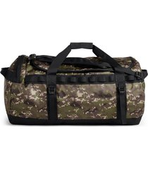 bolso base camp duffel l verde the north face.
