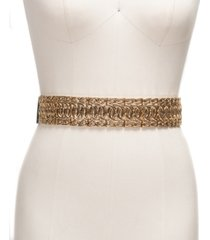 inc wide metal stretch plus-size belt, created for macy's
