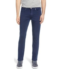 men's big & tall paige transcend - federal slim straight leg jeans, size 40 x 37 - blue