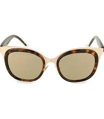 48mm novelty square sunglasses