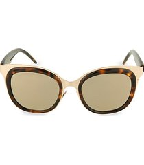 48mm novelty square sunglasses
