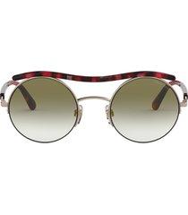 giorgio armani giorgio armani ar6082 rose gold sunglasses