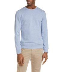 men's a.p.c. french terry crewneck sweatshirt