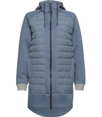 fære l hoodie parka lange jas jas blauw kari traa