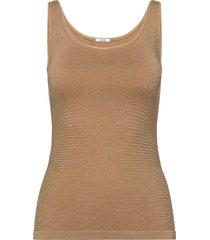 jamaika top t-shirts & tops sleeveless beige wolford