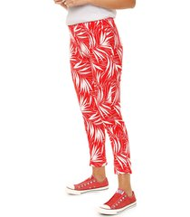pantalón rojo nylon