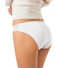 panty bikini blanco leonisa 012496
