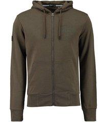 vest surplus groen