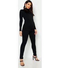 maternity basic jegging, black