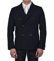 tonello blue wool jacket