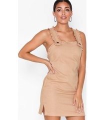 topshop ruffle pinafore mini dress loose fit dresses