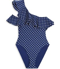 little girl's stella polka dot one-piece swimsuit