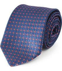 corbata azul  briganti hombre