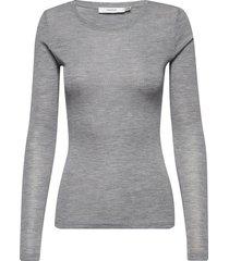 wilmagz ls tee noos t-shirts & tops long-sleeved grijs gestuz