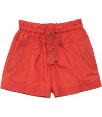 andres shorts in burnt henna