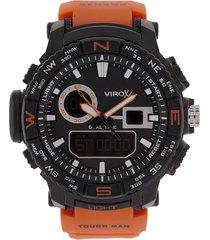 reloj naranja virox