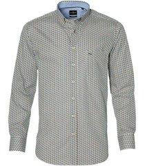 jac hensen overhemd - modern fit - beige