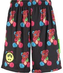 barrow printed bermuda shorts