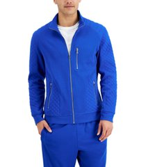 inc men's quilted rib knit jacket, created for macy's