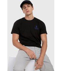 camiseta negro-azul royal county of berkshire polo club