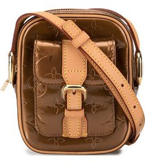 louis vuitton pre-owned christie pm crossbody bag - brown