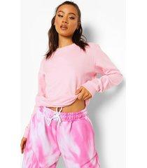 basic sweater, pale pink