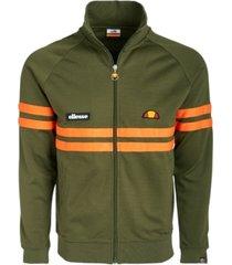 ellesse men's rimini striped track jacket