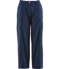 pantaloni 7/8 gamba larga (blu) - bpc bonprix collection