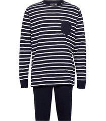 pyjama knit pyjamas blå jockey