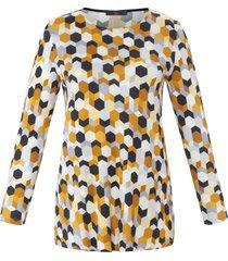 shirt met lange mouwen van emilia lay geel