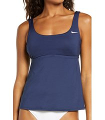 women's nike essential tankini top