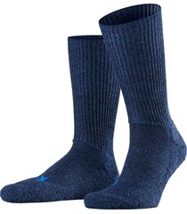 men's falke walkie ergo crew socks, size large - blue