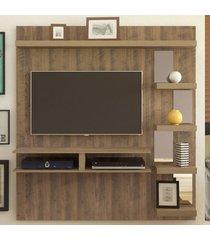 painel para tv até 50 polegadas premium pinho - artely