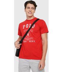 camiseta rojo-blanco royal county of berkshire polo club