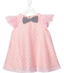 wauw capow by bangbang vanilla dress - pink