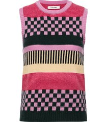 jo waistcoat vests knitted vests rosa nué notes