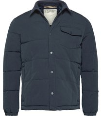 jackets outdoor woven kviltad jacka blå esprit casual