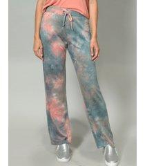 women's tie dye pull on pant