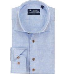 sleeve7 overhemd lichtblauw linnen chambray