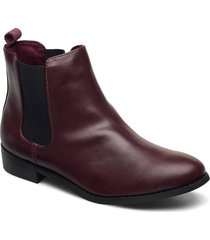 biabelene classic chelsea wf shoes chelsea boots röd bianco